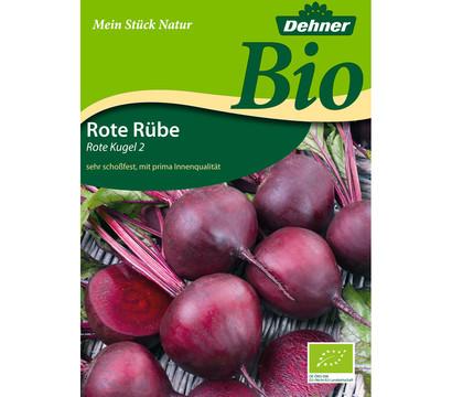 Dehner Bio-Samen Rote Rüben 'Rote Kugel 2'