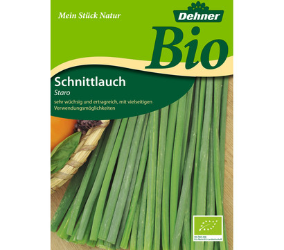 Dehner Bio-Samen Schnittlauch 'Staro'
