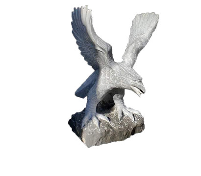 Dehner Bluestone-Adler, 55 x 42 x 90 cm