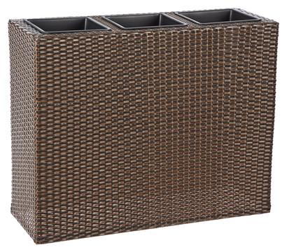 polyrattan zaun kaufen bei rattan. Black Bedroom Furniture Sets. Home Design Ideas