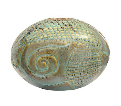 Dehner DECORA Keramik-Kugel OVA C3P8, H 7,5 cm