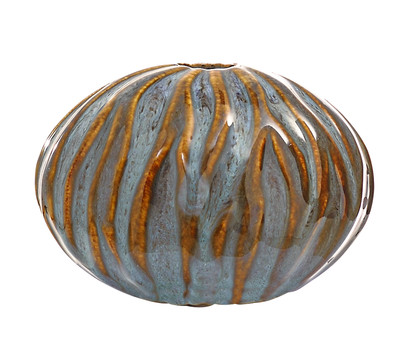 Dehner DECORA Keramik-Kugel OVA C4P1, H 7,5 cm