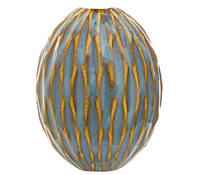 Dehner DECORA Keramik-Kugel OVALA C4P4, H 10 cm