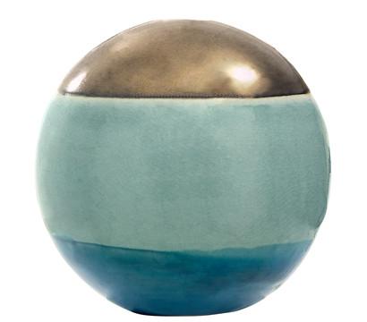 Dehner DECORA Keramik-Kugel RONDA C5P7, Ø 15 cm