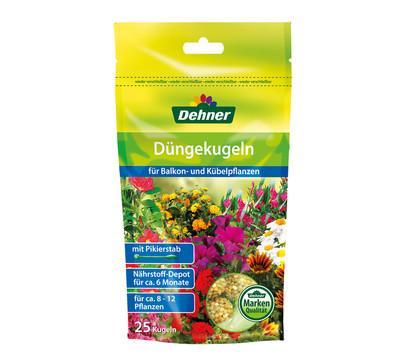 Dehner Düngekugeln für Balkon- und Kübelpflanzen