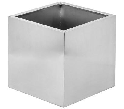 dehner edelstahl blumentopf rechteckig silber dehner. Black Bedroom Furniture Sets. Home Design Ideas