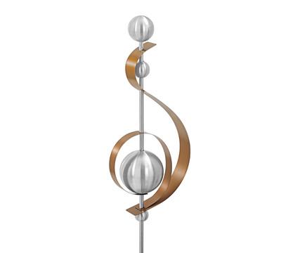 Dehner Edelstahl-Skulptur Klefo, ca. B19/H67/T10 cm