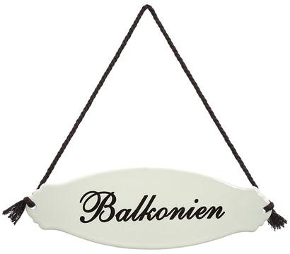 Dehner Gartenschild 'Balkonien'