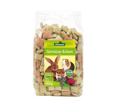 Dehner Gemüse-Ecken, Nagersnack, 150 g