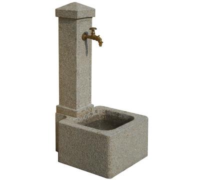 Dehner granit gartenbrunnen graz 50 x 60 x 110 cm for Granit deko garten