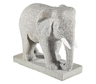 Dehner Granit-Elefant, 49 x 23 x 50 cm