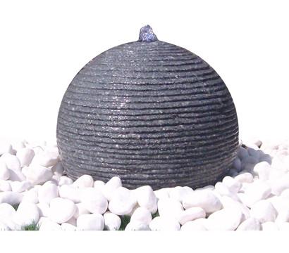 Dehner Granit-Gartenbrunnen Ball, Ø 42 x 29 cm