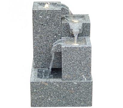 Dehner Granit-Gartenbrunnen Cascada, ca. B43/H65/T43 cm