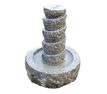 Dehner Granit-Gartenbrunnen Drill, Ø 45 x 55 cm