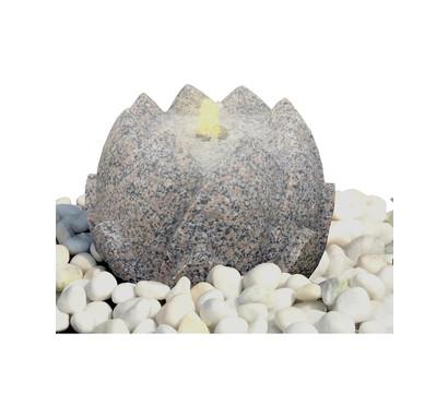 Dehner Granit-Gartenbrunnen Lotus, ca. Ø36/H26 cm
