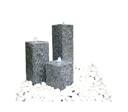 Dehner Granit-Gartenbrunnen Nizza, 56 x 56 x 77 cm