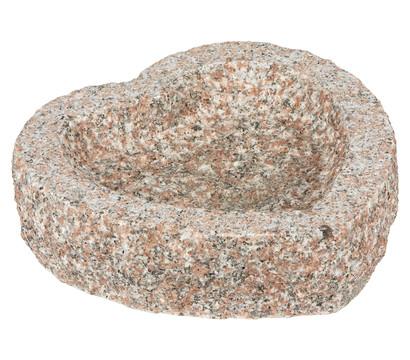 Dehner Granit-Herz für den Garten, 10 x 30 x 30 cm