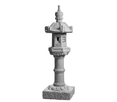 Dehner Granit-Laterne Kasuga, grau