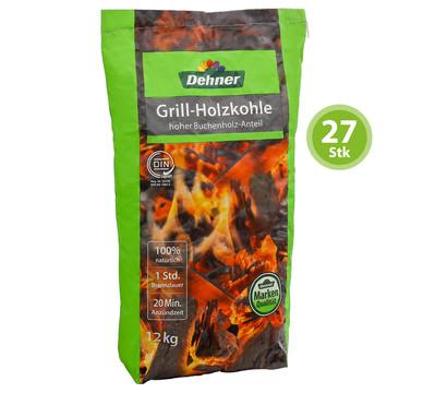 Dehner Grill-Holzkohle, 27 x 12 kg