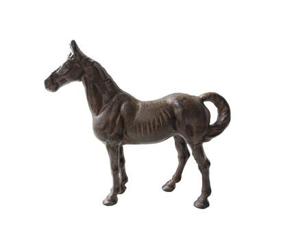 Dehner Gusseisen-Figur Pferd, groß