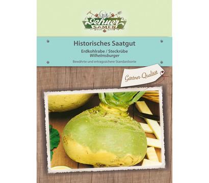 Dehner Historisches Saatgut Steckrübe 'Wilhelmsburger'