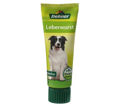 Dehner Hundeleberwurst, Hundesnack, 75g