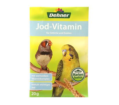 Dehner Jod-Vitamin für Sittiche und Exoten, 20 g