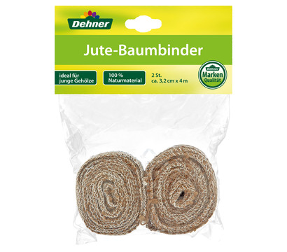 Dehner Jute-Baumanbinder, 4 m x 3,2 cm