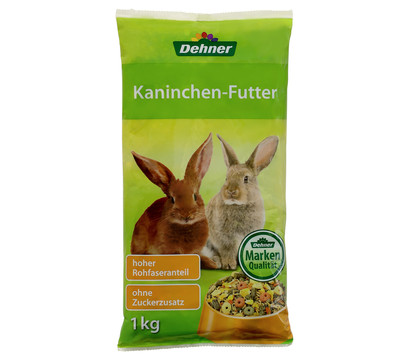 Dehner Kaninchen-Futter