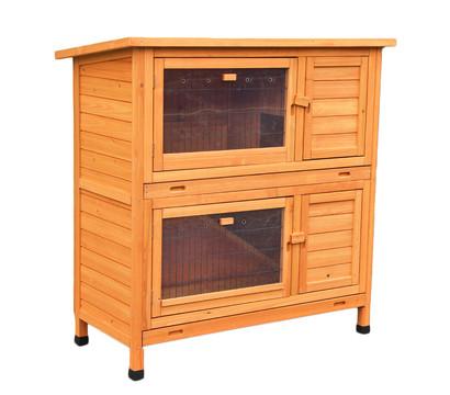 dehner kaninchenstall mit w rmed mmung original dehner. Black Bedroom Furniture Sets. Home Design Ideas