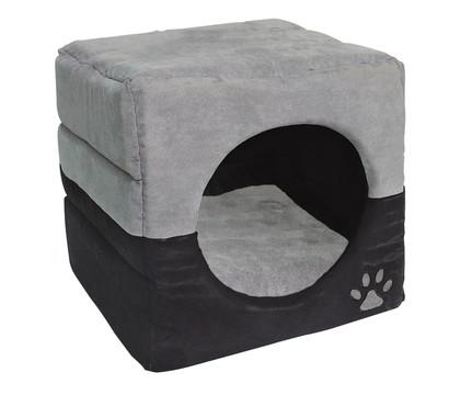 dehner katzenh hle 2in1 luca 40x40x40 cm dehner garten. Black Bedroom Furniture Sets. Home Design Ideas