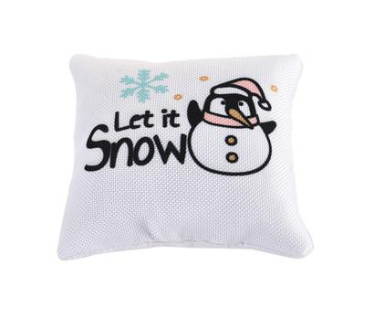 Dehner Katzenspielzeug Catnip-Kissen Let it snow