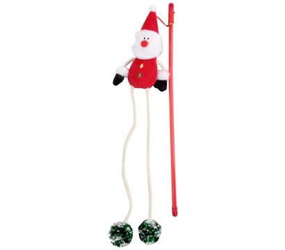 Dehner Katzenspielzeug Spielangel Santa