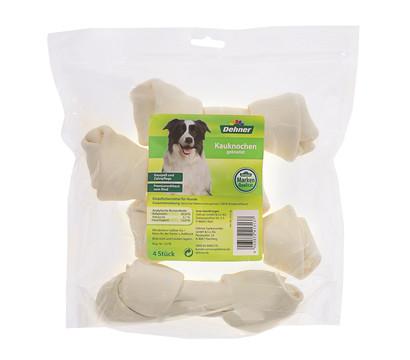 Dehner Kauknochen geknotet, Hundesnack, 4 Stück