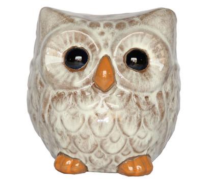 Dehner Keramik-Eule, 20 x 18 x 20 cm