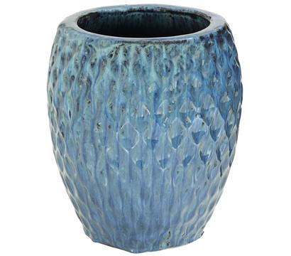 Dehner Keramik-Topf, blau