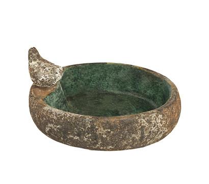 Dehner Keramik-Vogeltränke, ca. Ø 28/H28 cm