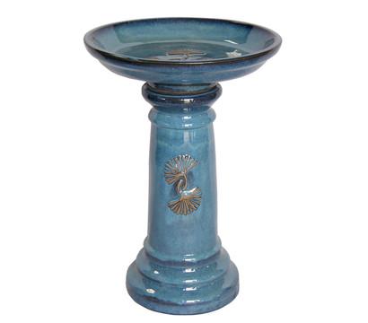 Dehner Keramik-Vogeltränke, ca. Ø41/H57 cm
