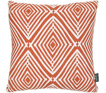 Dehner Kissen 'Selma' orange, 45x45 cm