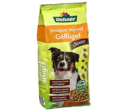 Dehner Knusper Mix Senior Geflügel, Trockenfutter