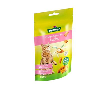 Dehner Knusperkissen, Katzensnack, 60g