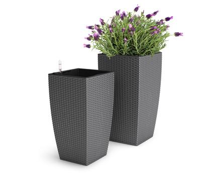 dehner kunststoff flechttopf dehner garten center. Black Bedroom Furniture Sets. Home Design Ideas