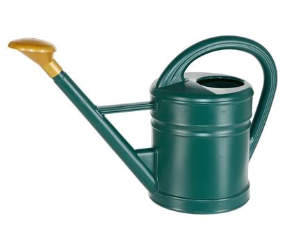 Dehner Kunststoff-Gießkanne mit Gießbrause, grün