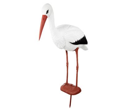 Dehner Kunststoff-Storch, 65 x 23 x 82 cm