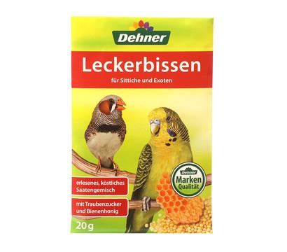 Dehner Leckerbissen für Sittiche und Exoten, 20 g