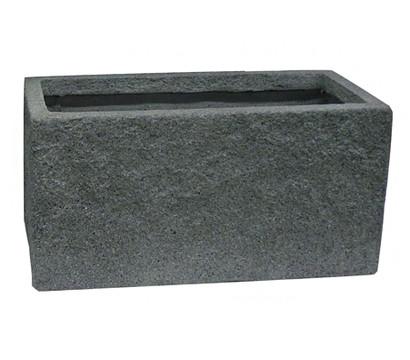 dehner leichtbeton topf set grau rechteckig dehner. Black Bedroom Furniture Sets. Home Design Ideas
