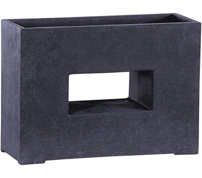 Dehner Leichtbeton-Pflanztopf mit Loch, graphit