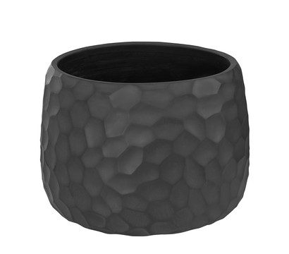 Dehner Leichtbeton-Topf Clay, dunkelgrau