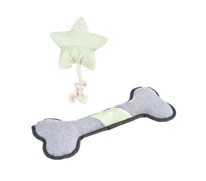 Dehner Lieblinge Hundespielzeug Set Lucky's Bone & New Star