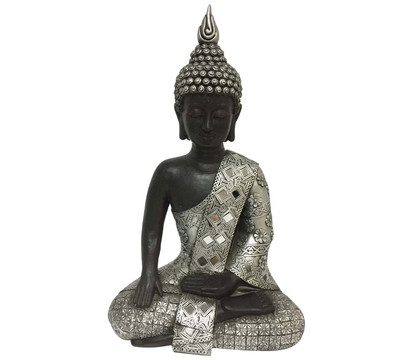 Dehner Magnesia-Buddha, 18,5 x 25 x 40,5 cm